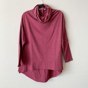 Soft Surroundings Cowl Neck Tunic Top Size Ps/m